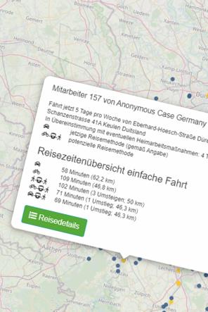 Mobilitätsscan für moderne Mitarbeitermobilität
